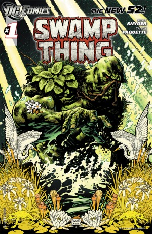 Swamp Thing (Image via DC wiki)