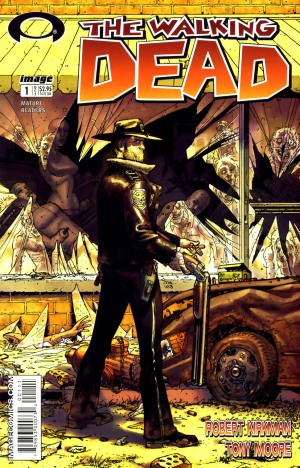 Walking Dead #1 (image via wiki)
